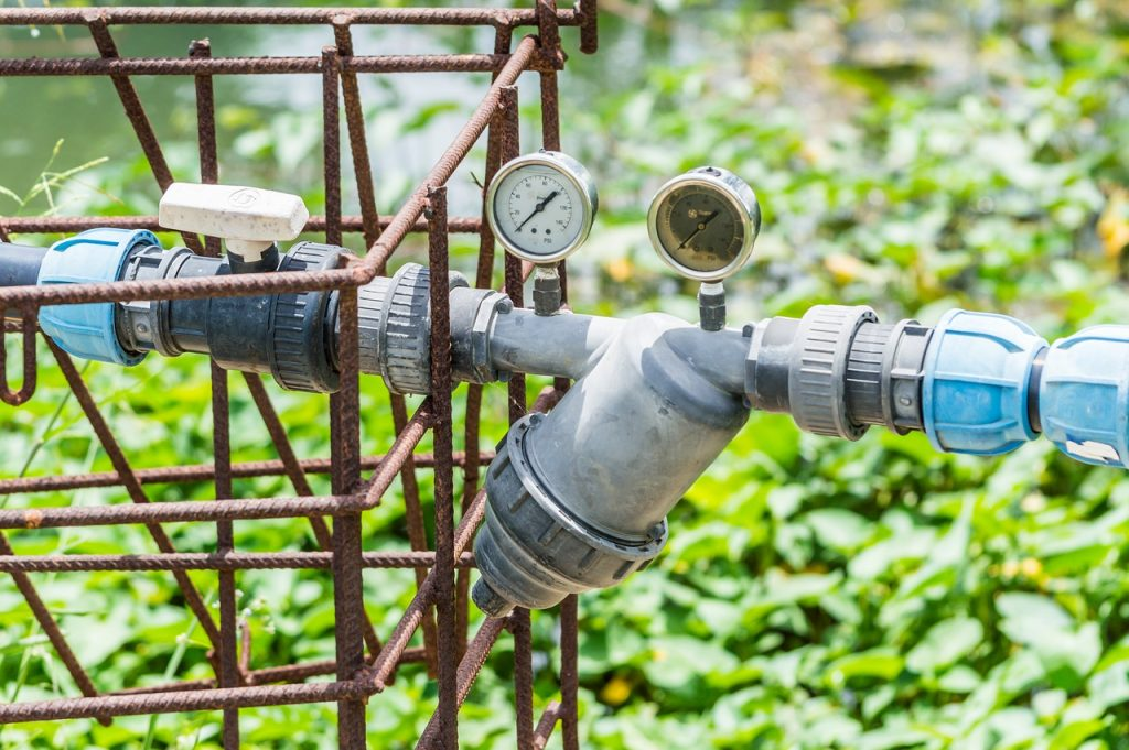manometro para medir la presion del agua