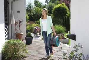 portamanguera facil de trasportar gardena