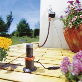 sensor de lluvia de gardena